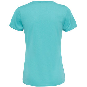 The North Face W's Reaxion Amp Crew Shirt Agate Green Heather